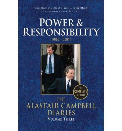 Portada del libro The Alastair Campbell Diaries. Volume 3 Power & Responsibility, 1999-2001