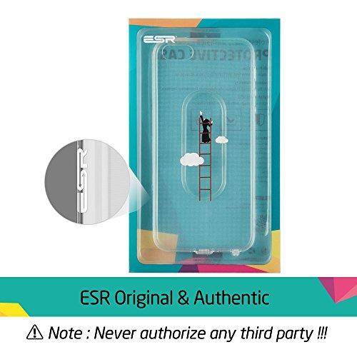 iPhone SE Hülle, ESR® Transparent Weiche Silikon Schutzhülle mit Niedlich Muster für iPhone SE 5S 5 (Sturmleiter) Mania_Sturmleiter