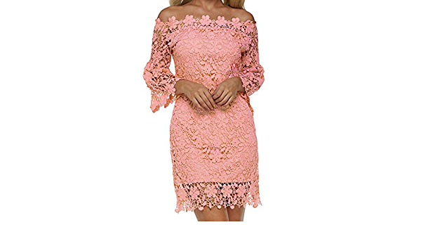 Ufodb Abendkleider Damen Sexy Schulterfrei Armellos A Linie Einfarbig Figurbetont Spitzenkleid Cocktailkleid Partykleid Minikleid Sommerkleid Ballkleid Festliches Kleid Fur Hochzeit Party Amazon De Bekleidung