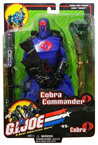 12 inch GI Joe Cobra Commander Action Figure (2001) by G. I. Joe