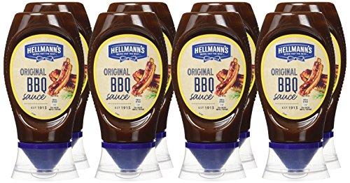 Hellmann's - Gran Salsa Barbacoa - 250 ml - [Pack de 8]