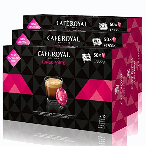 Café Royal Office Pads lungo Forte Café, Café Tostado, sistema de cápsulas, Nespresso Professional...
