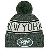 New Era NFL Beanie on Field 2018 NY Jets Wintermütze
