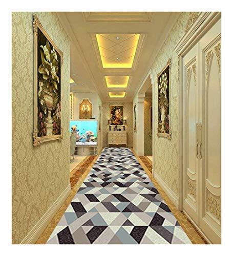 CnCnCn Alfombra De Entrada A Casa Pasillo Corredor Personalizable Color : A, Size : 100x550cm