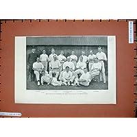 Parco 1894 di Sheffield di Sport dei Giocatori di cricket