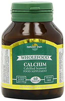 Natures Own 200mg Whole Food Calcium 60 Capsules
