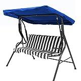 dDanke Toldo de repuesto para silla de jardín de 2 o 3 plazas