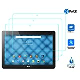 Acer Iconia Talk S (A1-734) protection écran, KuGi ® Acer Iconia Talk S (A1-734) Screen Protector - [pack 3] Protecteur d'écran de PET clair et doux 6H Dureté HD pour Acer Iconia Talk S (A1-734) Tablet.