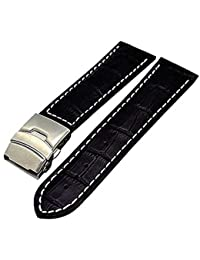 Uhrband für TAG Heuer Faltschließe 22//18mm hellbraun