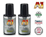 PRAKTISCHES SET 2 x 250ml A1 Dr WACK PREMIUM LEDERPFLEGE Lederschutz auf Jojobaöl-Basis