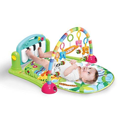 4en 1Kick et Play Piano Gym, unisexe, bébé Gym Tapis...