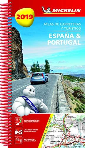 España & Portugal 2019 (Atlas de carreteras y turístico ) (Atlas de carreteras Michelin) por MICHELIN