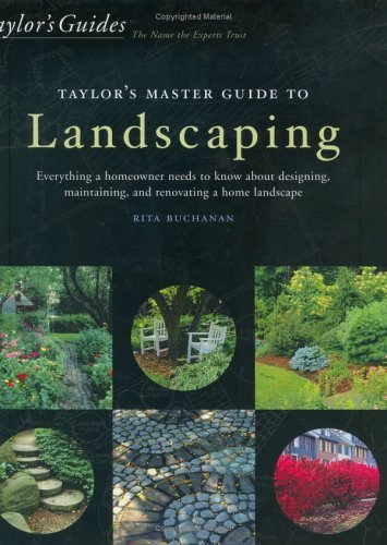 Taylor's Master Guide to Landscaping by Buchanan, Rita (2000) Hardcover