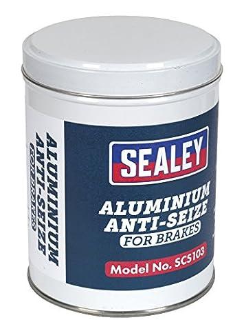 SEALEY scs103Anti-Seize composé en aluminium 500g