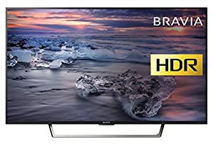 Sony Bravia KDL43WE753 Premium Full HD HDR TV (X-Reality PRO, Triluminos Display) - Black (2017 Model) [Energy Class A+]