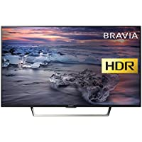 Sony Bravia KDL43WE753 (43-Inch) Premium Full HD HDR TV (X-Reality PRO, Triluminos Display) - Black (2017 Model)