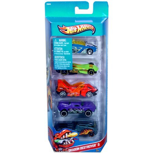 Hot Wheels Dragon Destroyer 5-5 Pack (X9846)
