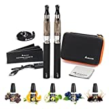 Salcar® Cigarrillo electrónico eGo-T CE4 con doble kit de...