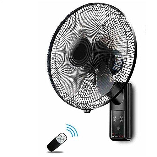 Fan KHA Leise Wand hängenden Ventilator/Schütteln Kopf Wandlüfter/mit Fernbedienung/elektrischer Ventilator -60W (Fernbedienung Wand-ventilator)