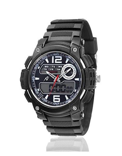 Yepme Analog Digital Black Dial Men's Watch - YPMWATCH3315 image