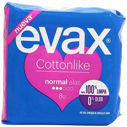Evax Cottonlike Normal Compresas Alas - 16 unidades
