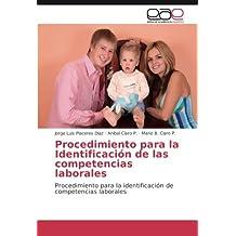 Procedimiento para la Identificación de las competencias laborales