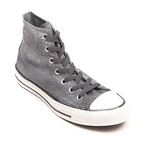 Converse  Chuck Taylor All Star Femme Sparkle Wash Hi,  Damen Sneaker - Gris (12 Gris)