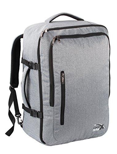cabin-max-zaino-da-viaggio-consentito-bagaglio-a-mano-grigio