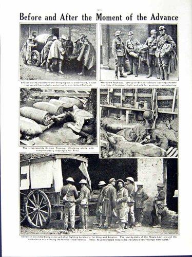 CAPI BRITANNICI 1916 DI GUERRA MONDIALE BRIAND HAIG JOFFRE (Capi Britannici)