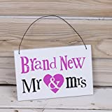 The Bright Side - Brand New Mr & Mrs Sign