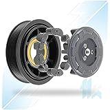 climática Compresor embrague apto para A3(8P); A4(B7/B7); A6(C6); A8; Q7; GOLF V/VI; JETTA, Passat, Caddy; Touran; Tiguan; Phaeton; Octavia; Superb; ROOMSTER; Leon; Altea; denso 6seu14C 6pk (PV6) 110,00mm