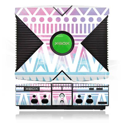 microsoft-xbox-case-skin-sticker-aus-vinyl-folie-aufkleber-pastell-galaxy-fruhling