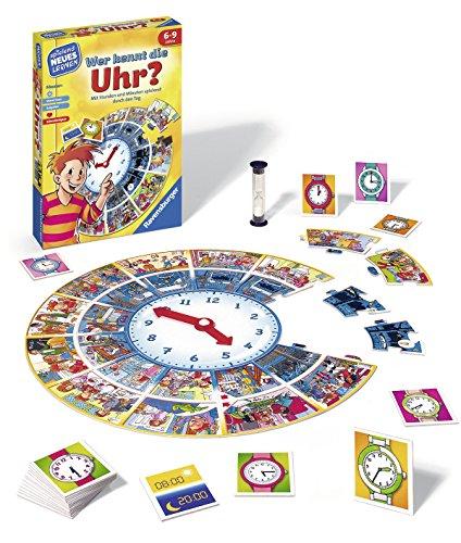 Ravensburger-24995-Wer-Kennt-Die-Uhr-Lernspiel