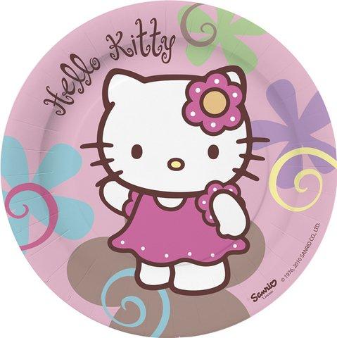 Hello Kitty Bamboo partito piatti x