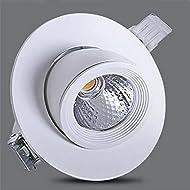 Xh&Yh Elephant Nose Intégré Éclairage Projecteurs à LED étanches Économiseur d'énergie LED Cool White (5700k) Lumières 105 * 55mm