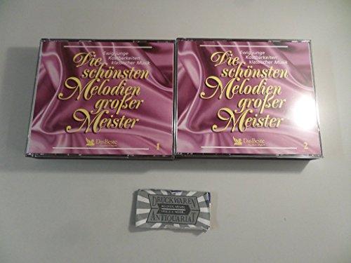 Die Schönsten Melodien Großer Meister [5 Audio-CDs].
