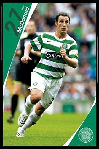 futbol-poster-con-marco-plastico-celtic-scott-mcdonald-07-08-91-x-61cm