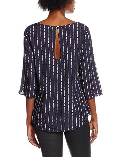 VILA CLOTHES Damen Langarmshirt Blau (Total Eclipse)