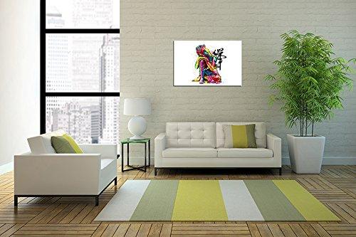 """Piy Buda lienzo pared arte, Zen cuadros en lienzo para dormitorio (1""""de grosor, resistente al agua, listo para colgar) 6"""