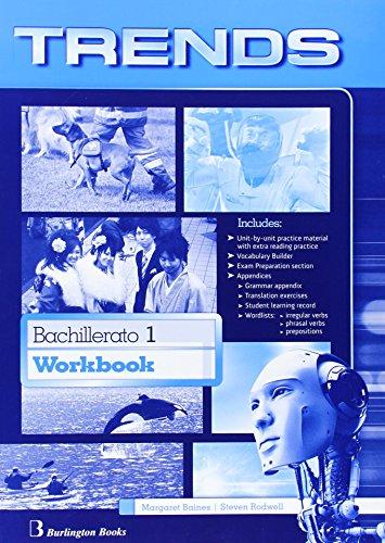 Trends 1 Workbook Bachillerato 1Edition 2014