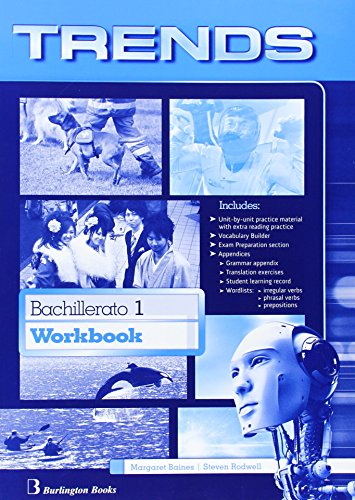 Trends 1. Workbook. Bachillerato 1 - Edition 2014 - 9789963510863
