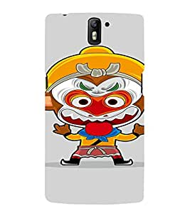 PrintVisa Animated Cartoon Design 3D Hard Polycarbonate Designer Back Case Cover for One Plus One