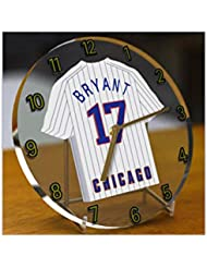 Ligue majeure de baseball–National de Ligue MLB Jersey Bureau Horloges–N'importe Quel Nom, n'importe quel Nombre, n'importe quelle équipe–Sans personnalisation.