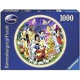 Ravensburger - 15784 - Puzzle Classique - Disney Pz Rond - 1000 Pièces