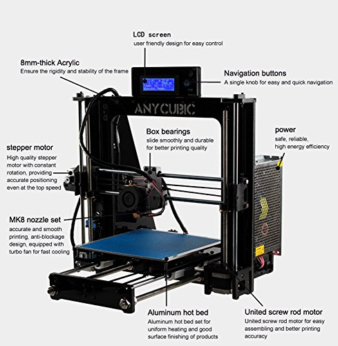 Anycubic – Prusa i3 AC-3D614 - 2