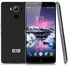 "Elephone P9000 4G Lte - 5.5"" Smartphone Movil Libre Android 6.0 (Octa Core, 32Gb, 4Gb Ram, 13Mp, Huellas Dactilares, Nfc Otg Type C, Carga Rapida y Inalambrica), Negro"