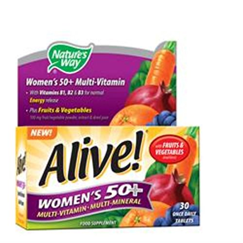 Nature's Way Alive! Womens 50+ OAD 30 Tablet (order 12 for trade outer)