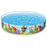 Intex 56453 - Piscina Rigida Baby Reef, 244 x 46 cm, Multicolore