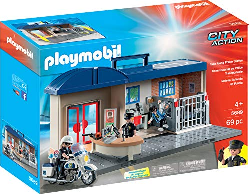 Playmobil- Comisaría Maletín Juguete