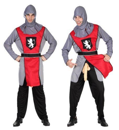 Herren-Erwachsene unvergessliche Knight (Penis Kostüme Adult)